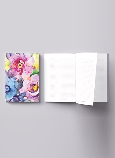 LWP Shop Rosa Gallica Notebook Renkli